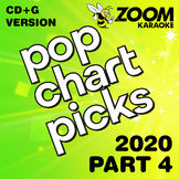 Zoom Karaoke Pop Chart Picks 2020 - Part 4 (CD+G)
