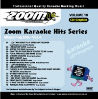 Zoom Karaoké Hits - Volume 10 (CD+G)