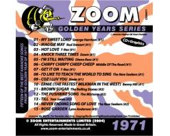 Zoom Karaoké Golden Years 1971 (CD+G)