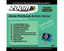 Zoom Karaoké Platinum Artists: Gene Pitney Vol.1 (CD+G)