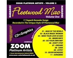 Zoom Karaoké Platinum Artists: Fleetwood Mac Vol.1 (CD+G)