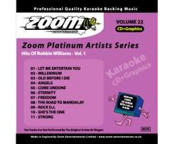Zoom Karaoké Platinum Artists: Robbie Williams Vol.1 (CD+G)