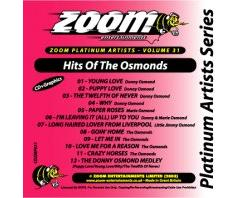 Zoom Karaoké Platinum Artists: Osmonds (CD+G)