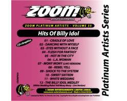 Zoom Karaoké Platinum Artists: Billy Idol (CD+G)