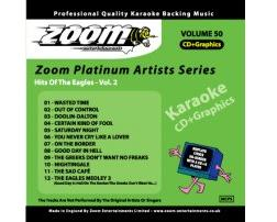 Zoom Karaoké Platinum Artists: Eagles Vol.2 (CD+G)