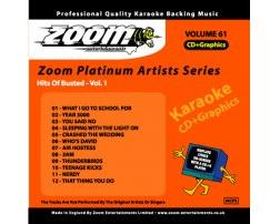 Zoom Karaoké Platinum Artists: Busted Vol.1 (CD+G)