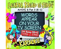 Activity & Fun 3 (K-1) (CD+G)