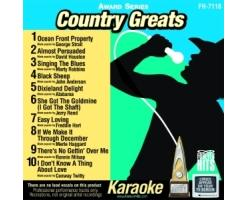 Country Greats (CD+G)