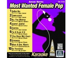 Most Wanted Female Pop CD+G