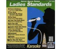 Ladies Standards - Artist Award Series (CD+G)